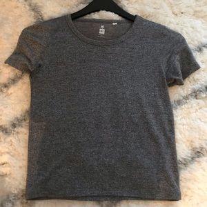 Gray shimmer T-Shirt.